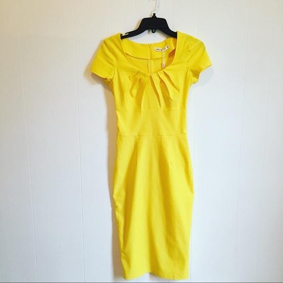 326b45943a9c0 MUXXN Women s 1950s Vintage Pleated Pencil Dress
